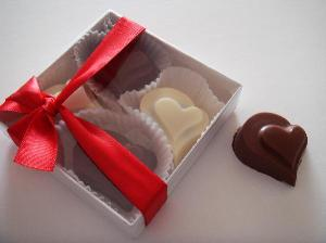Picture of Heart shaped Truffles